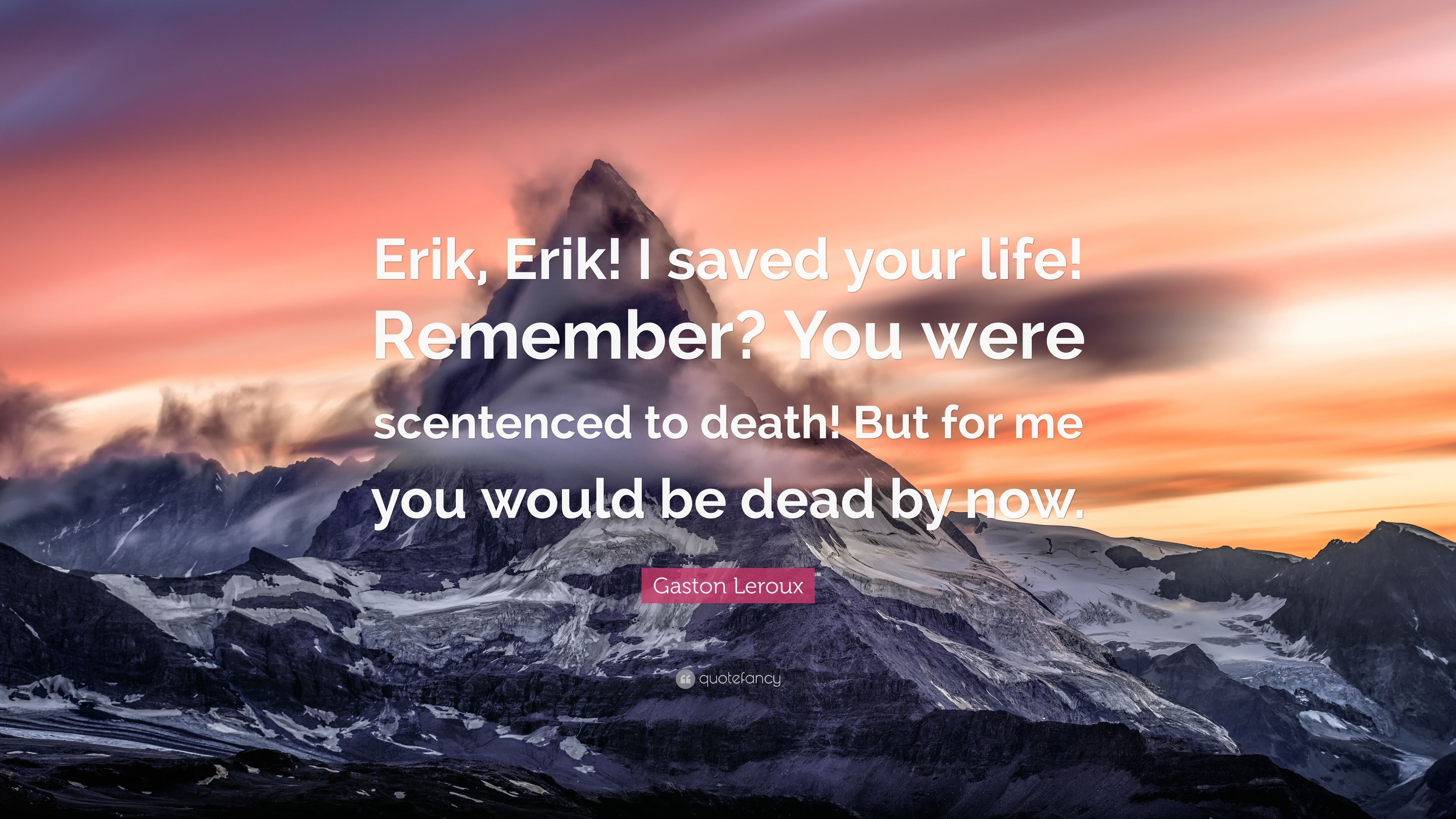 Remember your dead to me