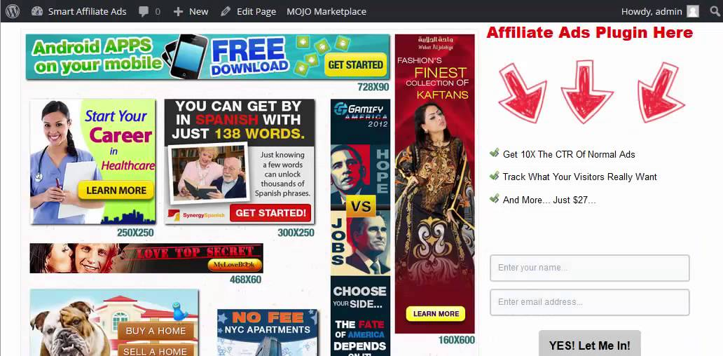 Where to put ads for free