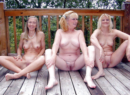 Groups of naked milfs