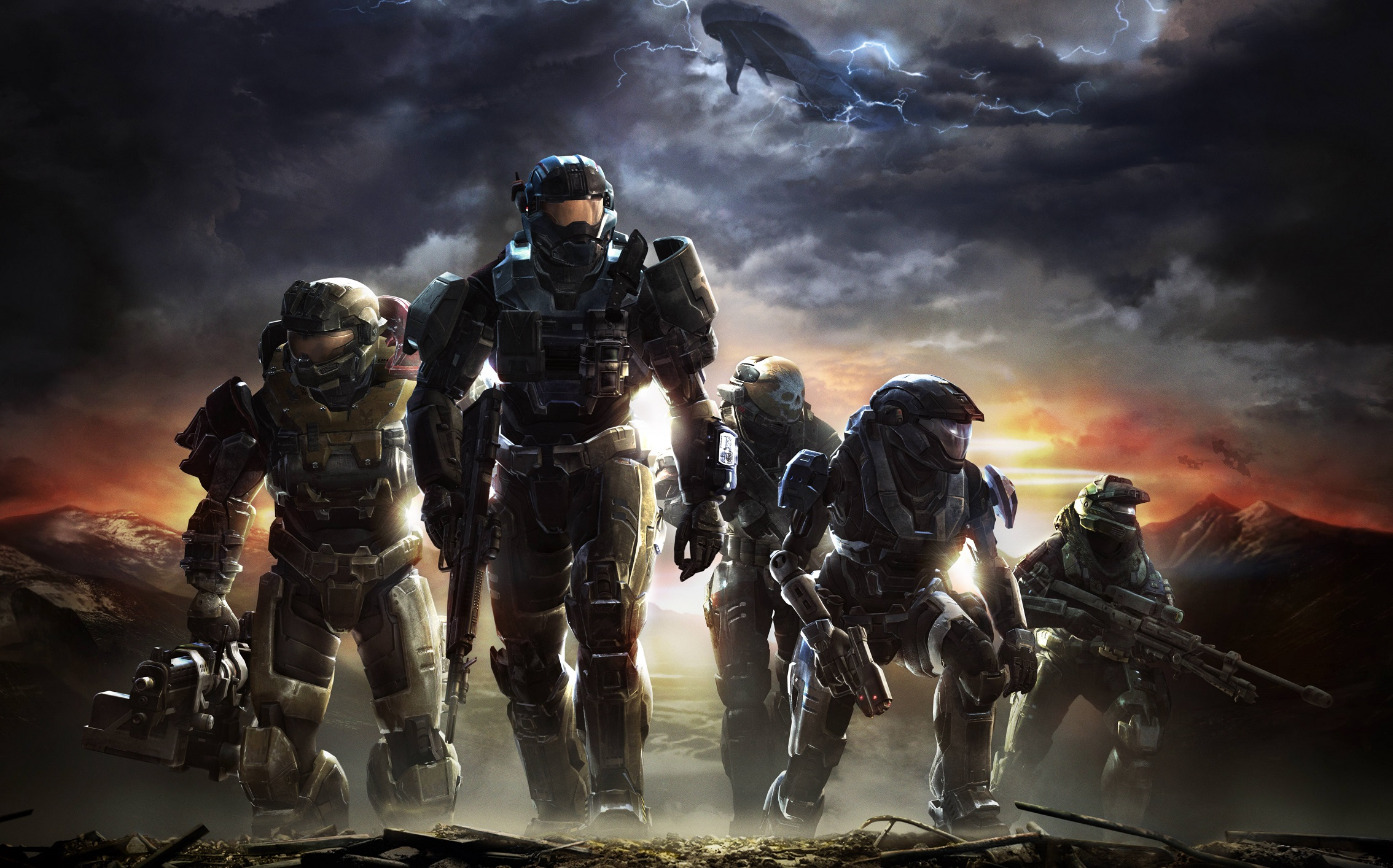 Master chief with hot girl