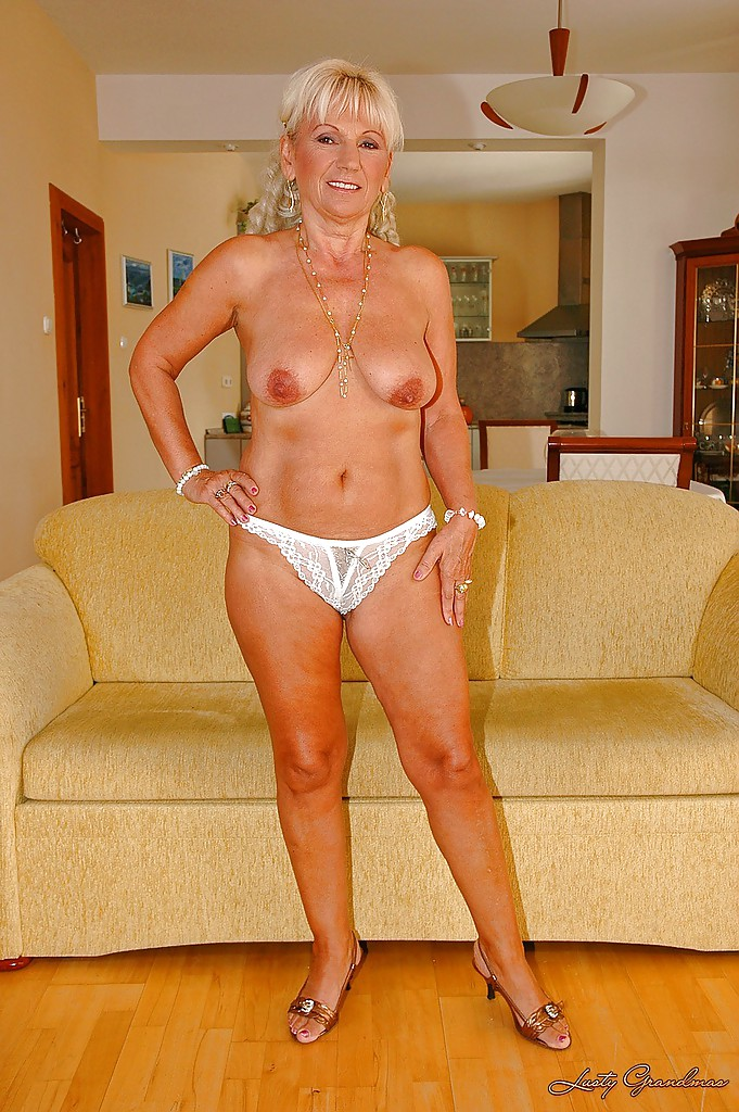 Naked old grannys tight ass