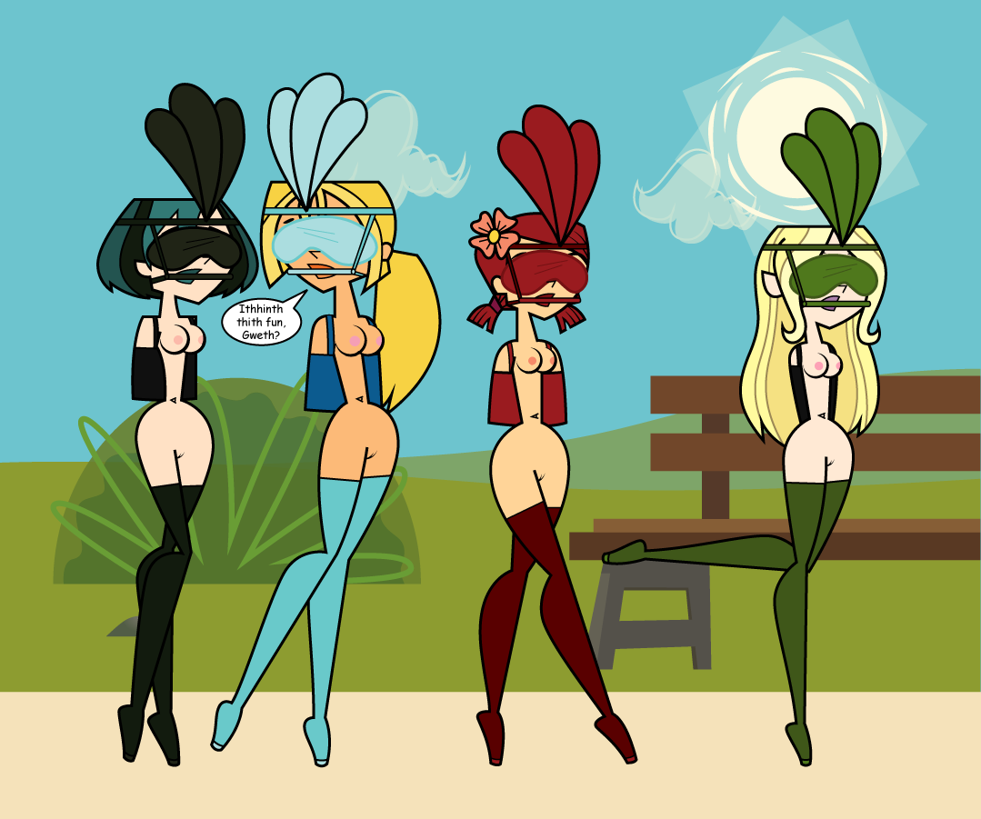 Naked total drama all stars