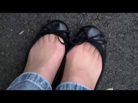 Sexy nude sandals thongs youtube