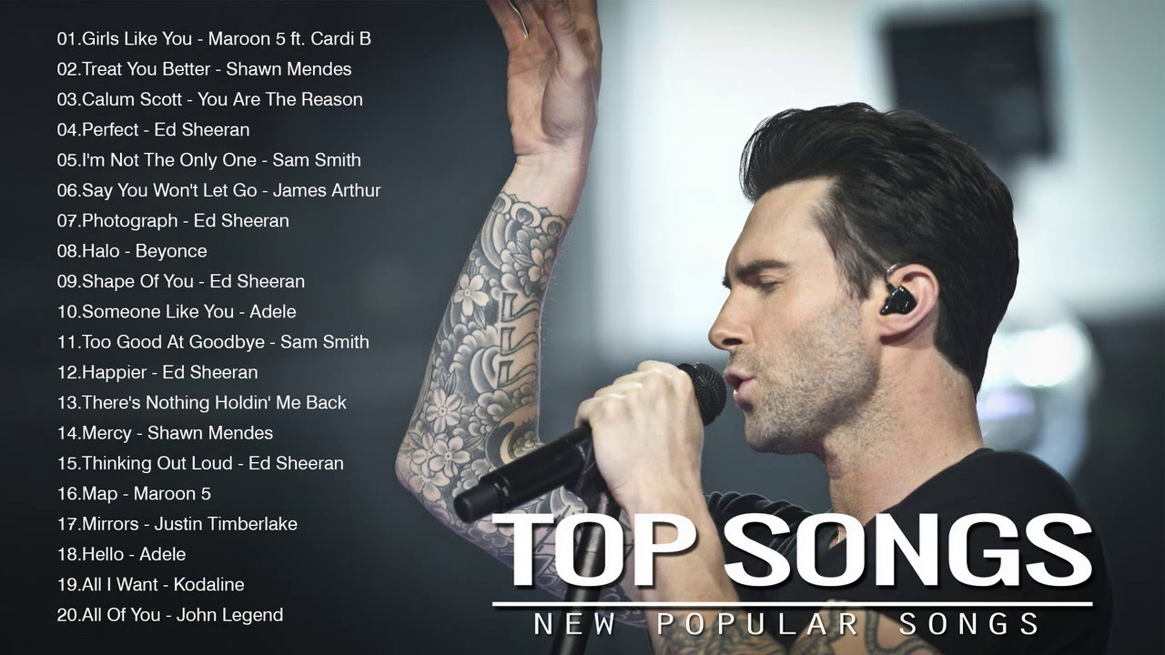 Top trending songs right now